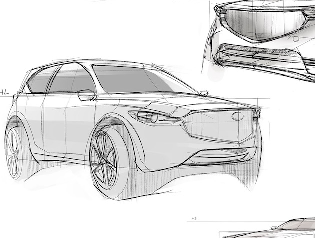 Optimal Angles for Car Sketching