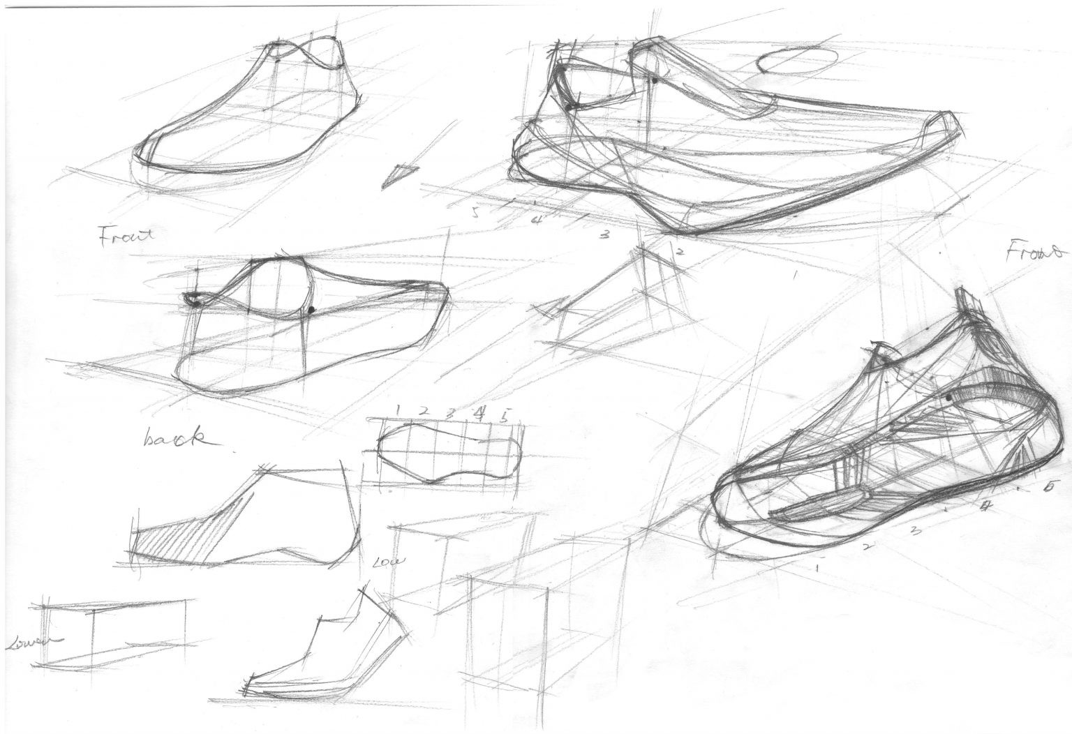 Video- how to draw sneakers